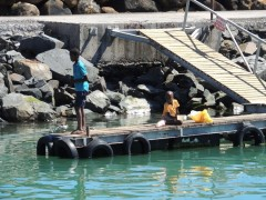 Boys Fishing in Gordan's Bay