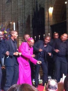 Archbishop Tutu Dances