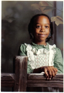 8-or-9-year old me. Age I would have been in Mr. Hannah's Sunday school class.