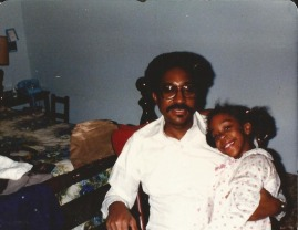 Back-in-the-day: Dad & Nicole
