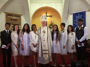 All Saints Confirmation 2015