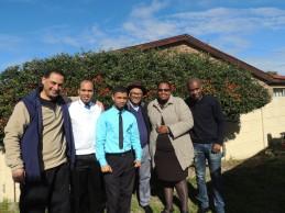 Meet the team: Wayne, Ryan, Zrano, Neil, Rethabile, Nkosinathi
